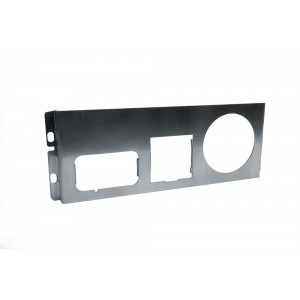 Bottom 1.5DIN Control Panel, 1x52mm Gauge, 1x Mirror, 1x Standard Mazda Switch