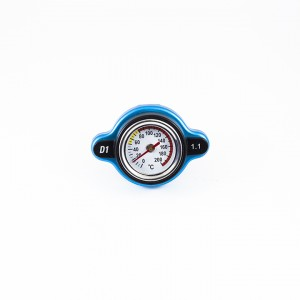 Radiator Cap with Thermometer
