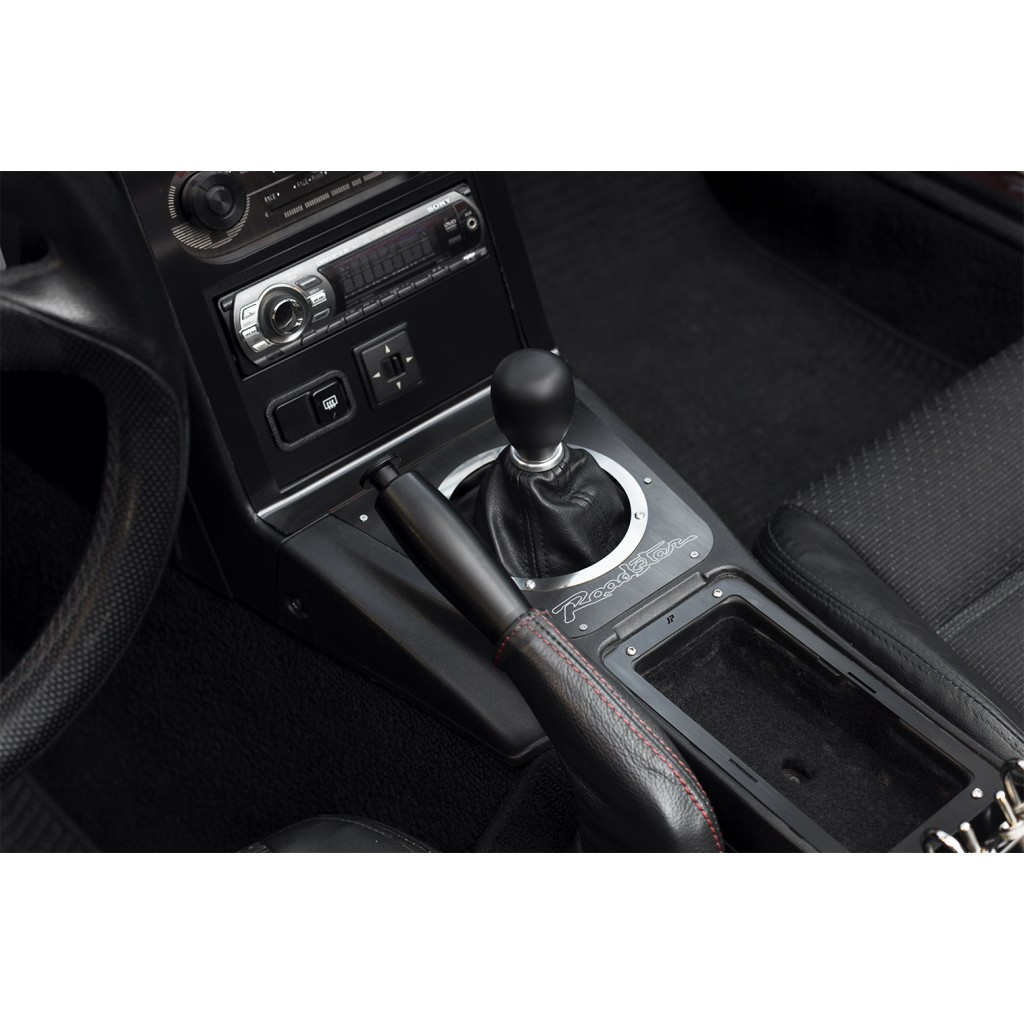 Gear Lever Surround, Roadster, Black Brushed
