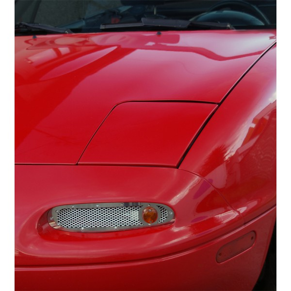 Classic TSIs (Turn Signal Intakes), Mirror Polished Stainless Steel