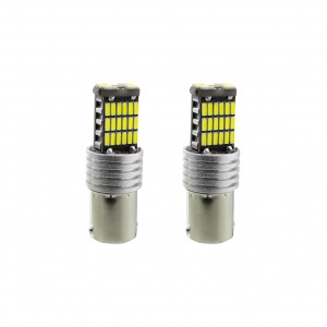 ULTRABRIGHT BA15S LED BRAKE/SIDELIGHT BULBS