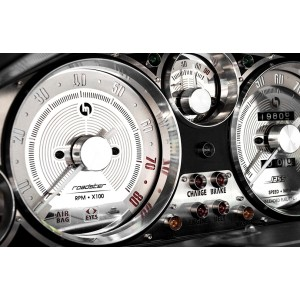 Gauge Rings, Deep Style, Billet Aluminium