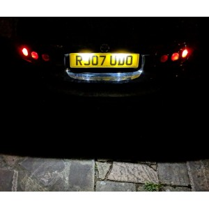 NC/MK3 Numberplate Ultra Bright LED Lights